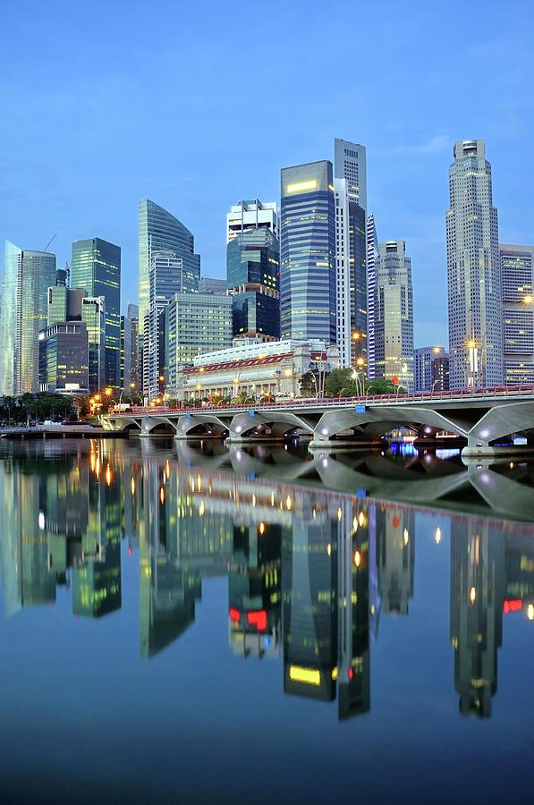 Singapore Cbd Photograph by Photo By Salvador Manaois Iii