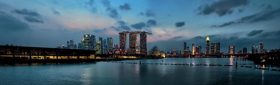 Singapore Cbd Skyline Photograph by © Ho Soo Khim
