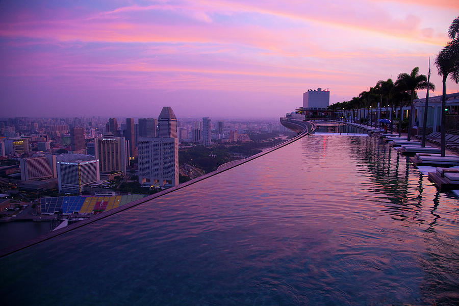 Architecture Photograph - Singapore, Marina Bay Sands Hotel by Jaynes Gallery