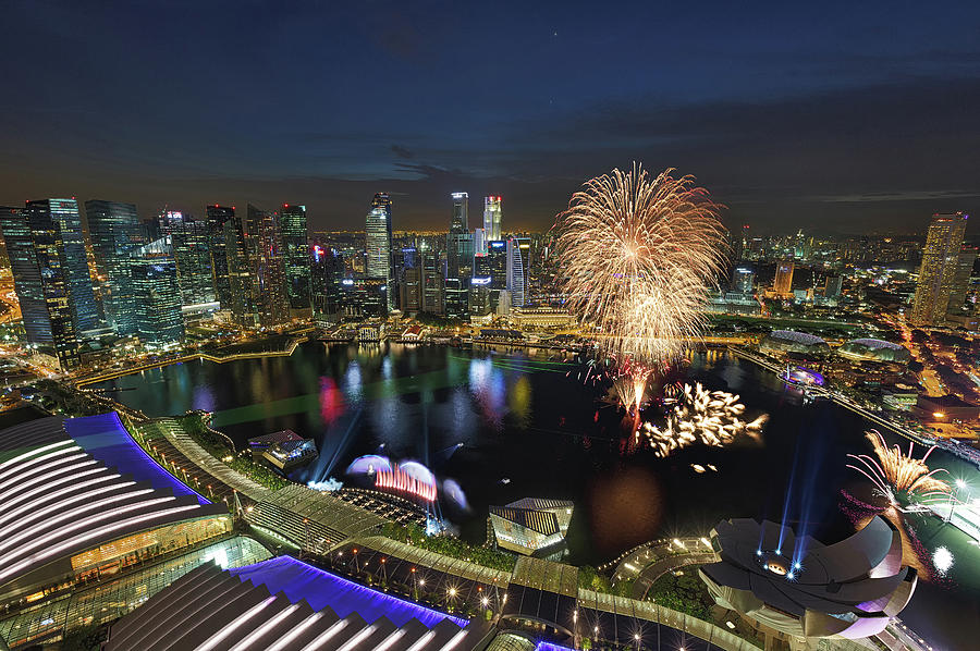 Singapore National Day Parade Rehearsal Photograph by © Ian Kee Photography