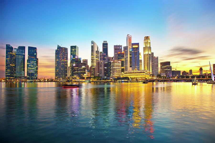 Singapore Photograph by Seng Chye Teo