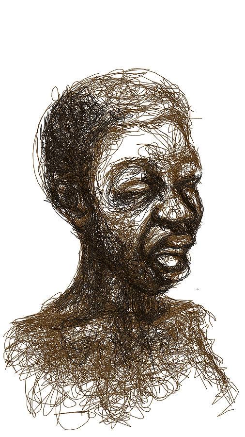 Singer Digital Art by Khaya Bukula
