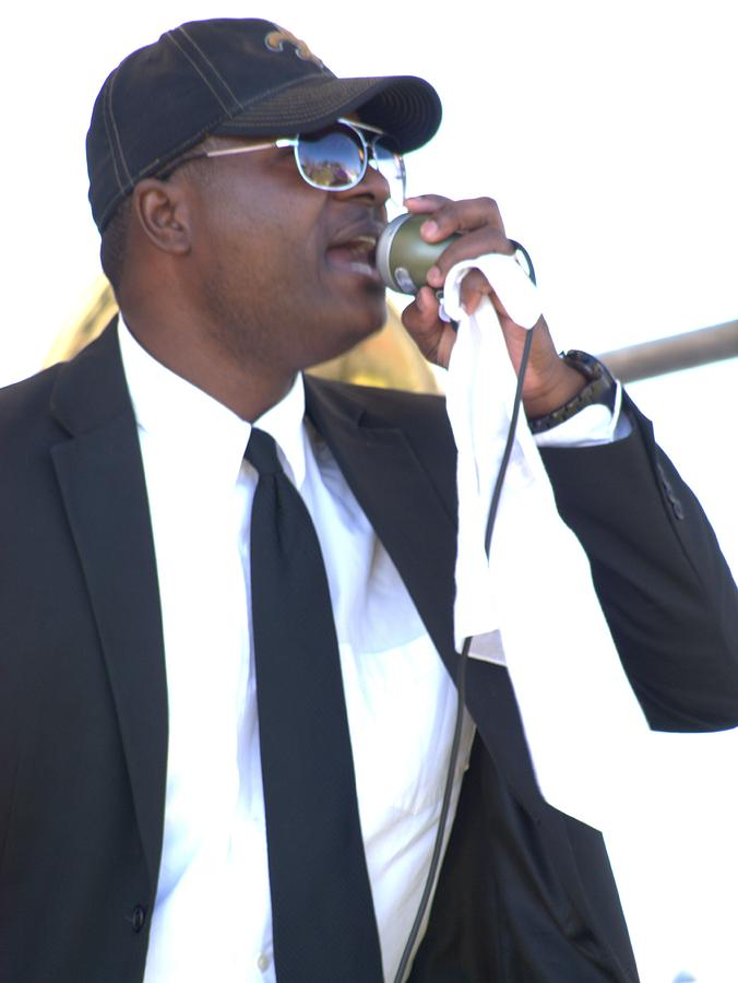 Singer Photograph - Singing A Jazz Song by Anthony Walker Sr