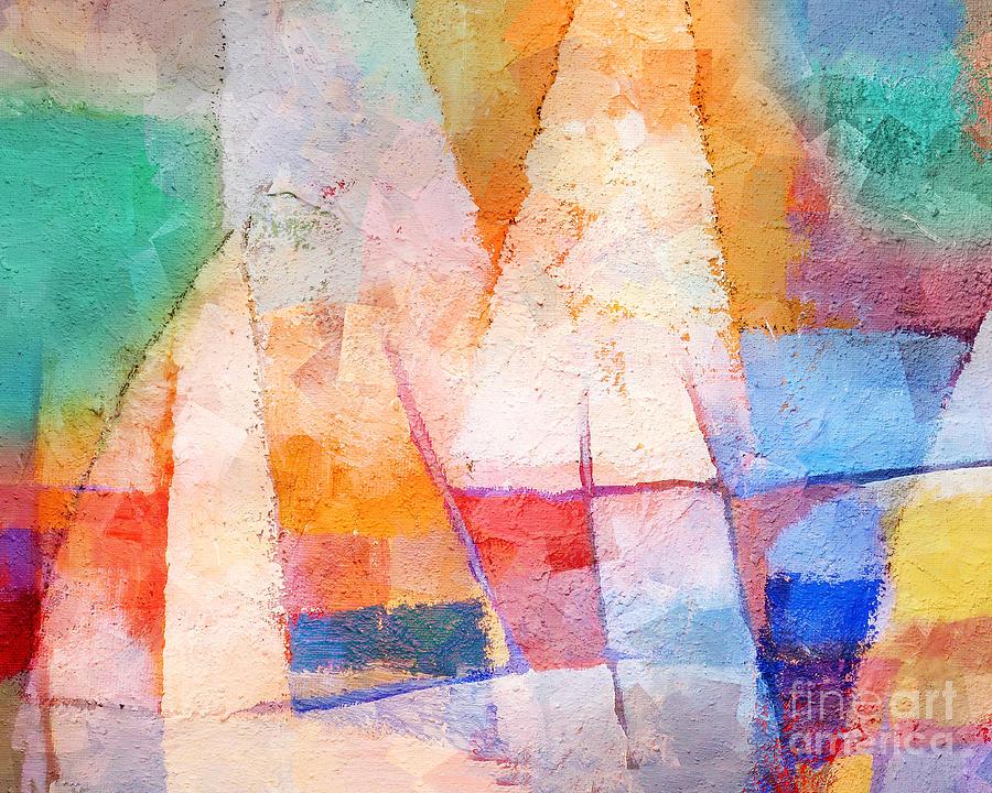 Maritime Painting - Singing Colors by Lutz Baar