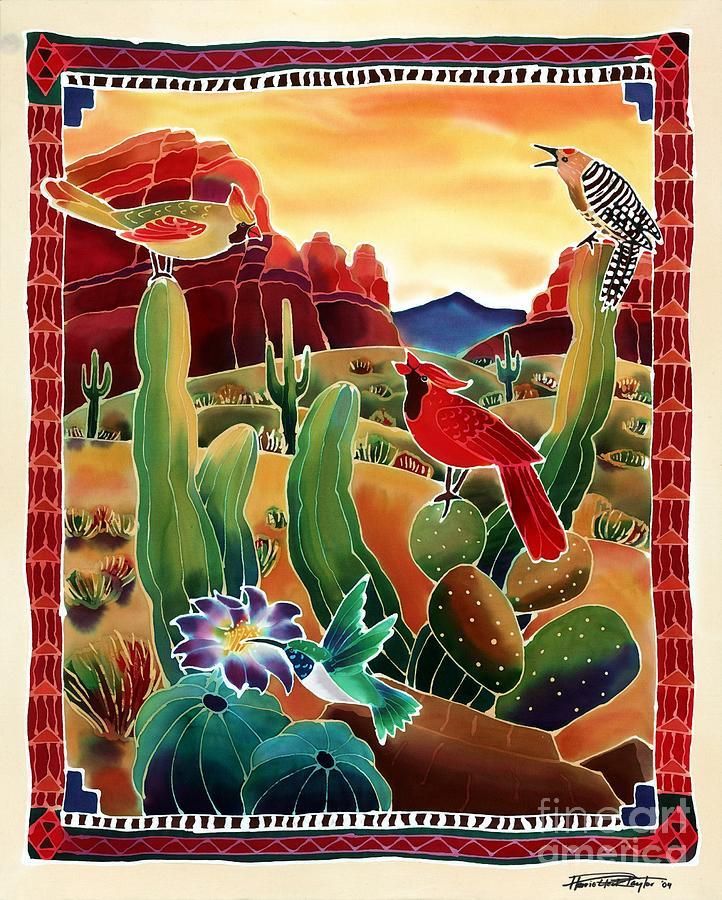 Desert Painting - Singing In The Desert Morning by Harriet Peck Taylor