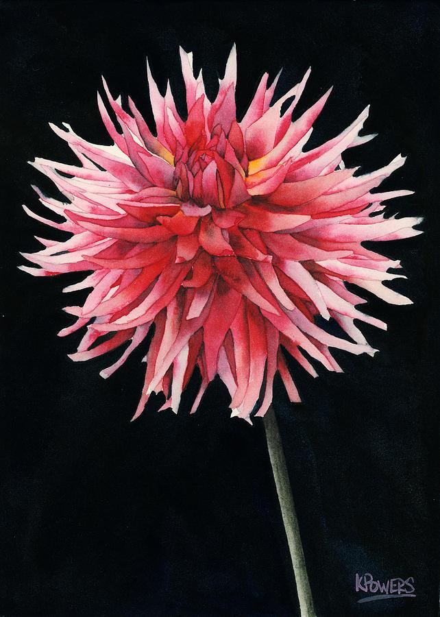 Single Dahlia by Ken Powers
