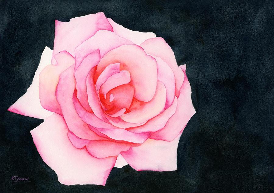 Single Rose by Ken Powers