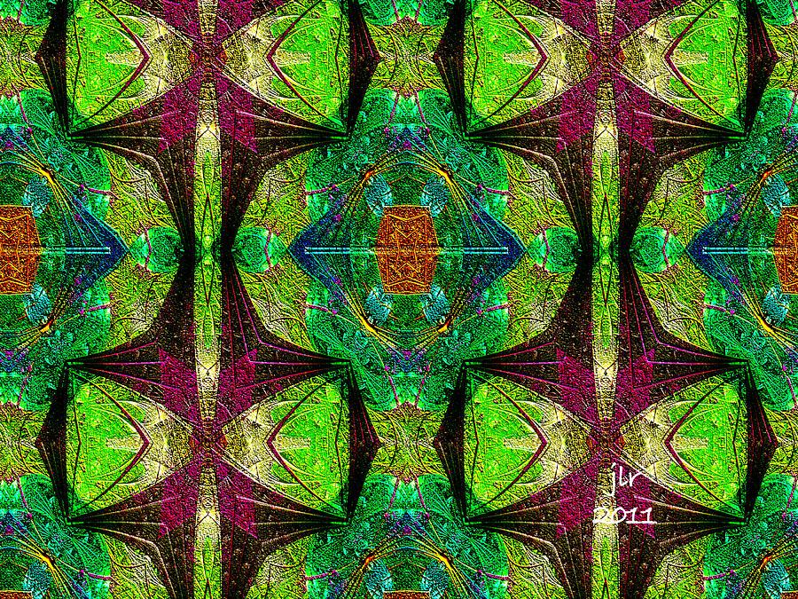 Fractal Digital Art - Singularity by Janet Russell