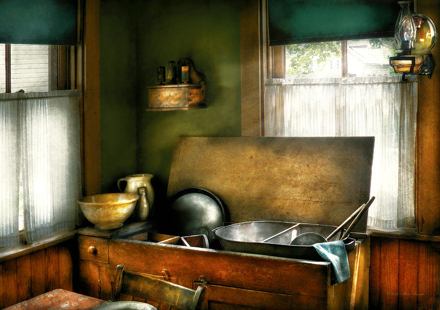 Chef Photograph - Sink - The Kitchen Sink by Mike Savad