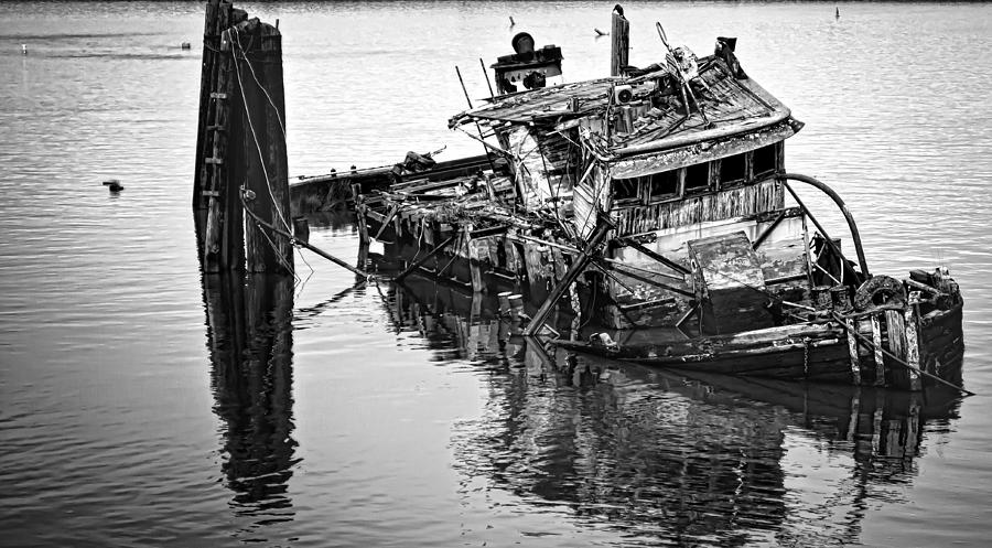 Mary D Hume Photograph - Sinking by Heather Applegate