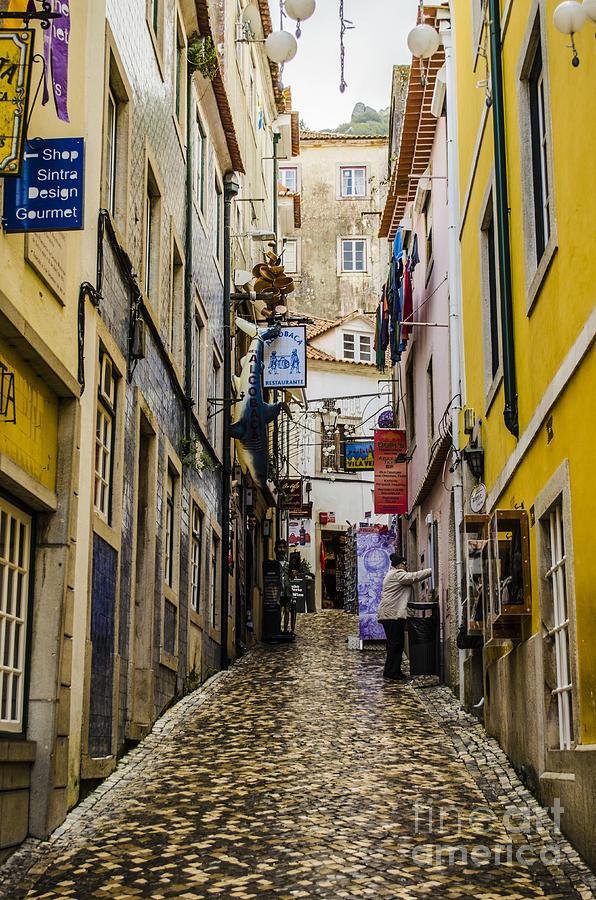 Sintra Photograph - Sintra Street by Deborah Smolinske