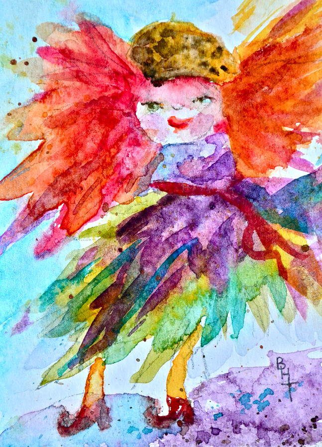 Siofra Painting - Siofra by Beverley Harper Tinsley
