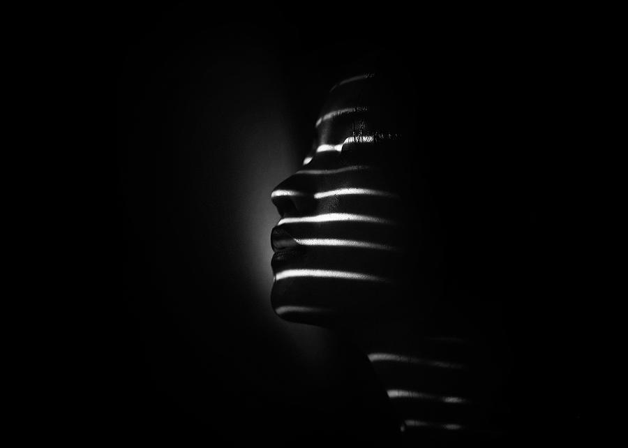 Stripes Photograph - Siputri by Teguh Yudhi Winarno