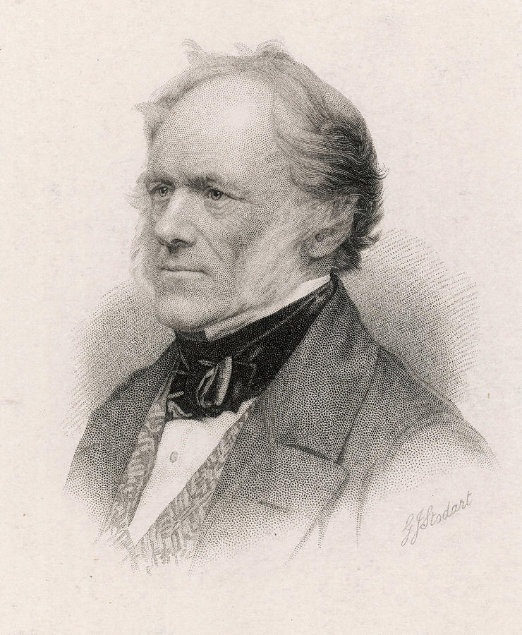 Lyell Drawing - Sir Charles Lyell (1797-1875) Geologist by Mary Evans Picture Library