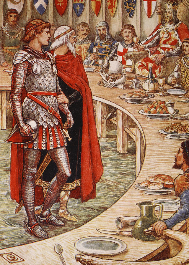 sir galahad is brought to the court of king arthur radio clip art for valentine's day box radio clip art free