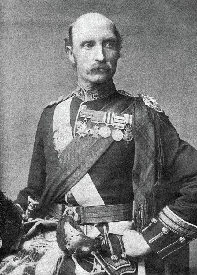 1900 Photograph - Sir George Stewart White (1835-1912) by Granger