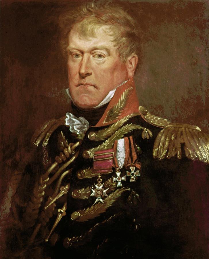 1815 Painting - Sir George Wood (1767-1831) by Granger