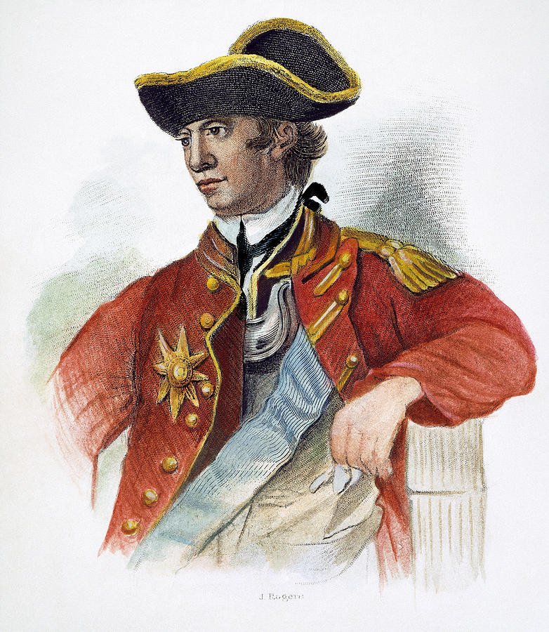 Sir William Howe 1729 1814 Photograph By Granger