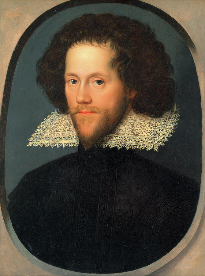 Oil On Panel Painting - Sir William Pope, Attributed To William Larkin by Litz Collection