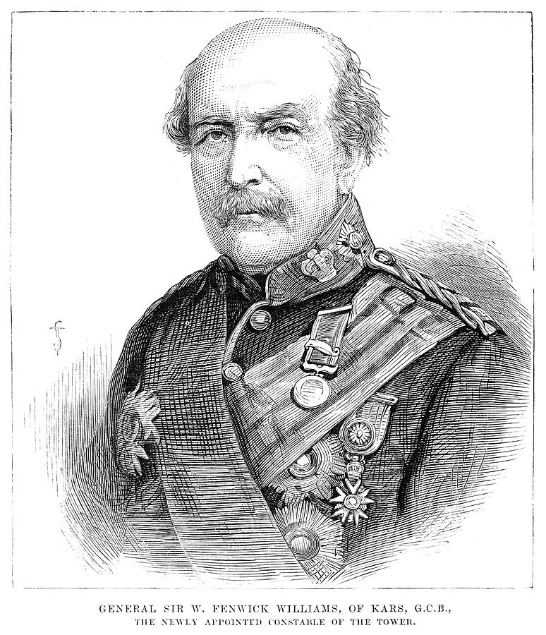 1881 Painting - Sir William Williams  (1800-1883) by Granger
