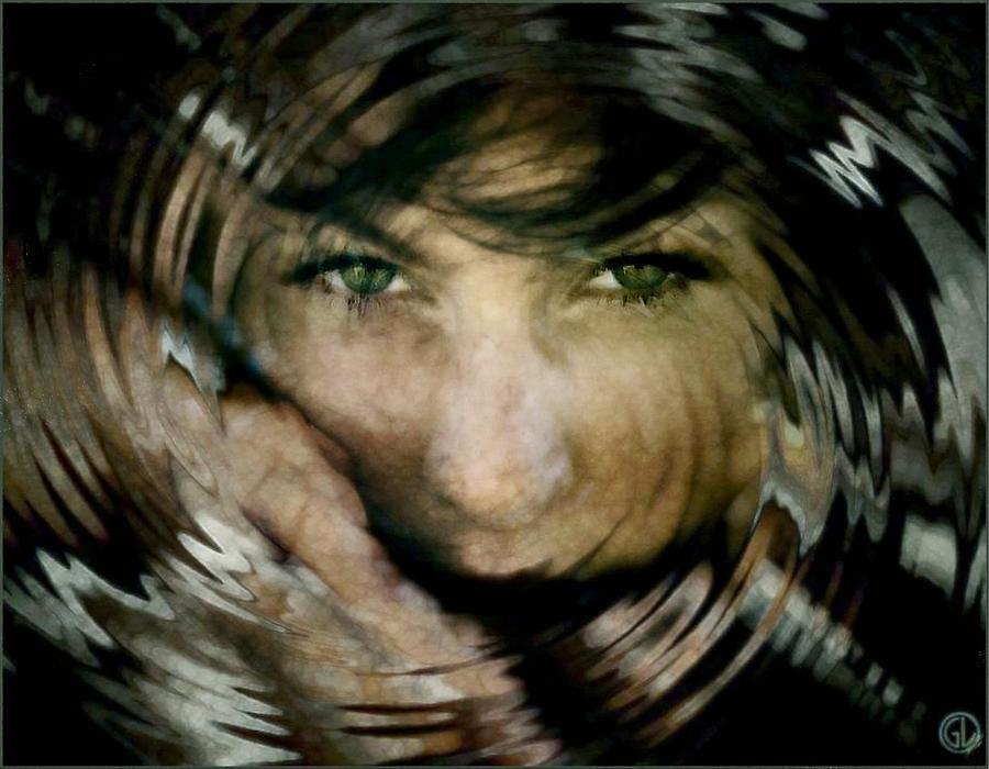 Woman Digital Art - Siren by Gun Legler