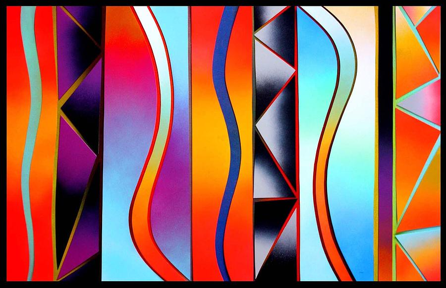 Painting Painting - Siren by John Casper