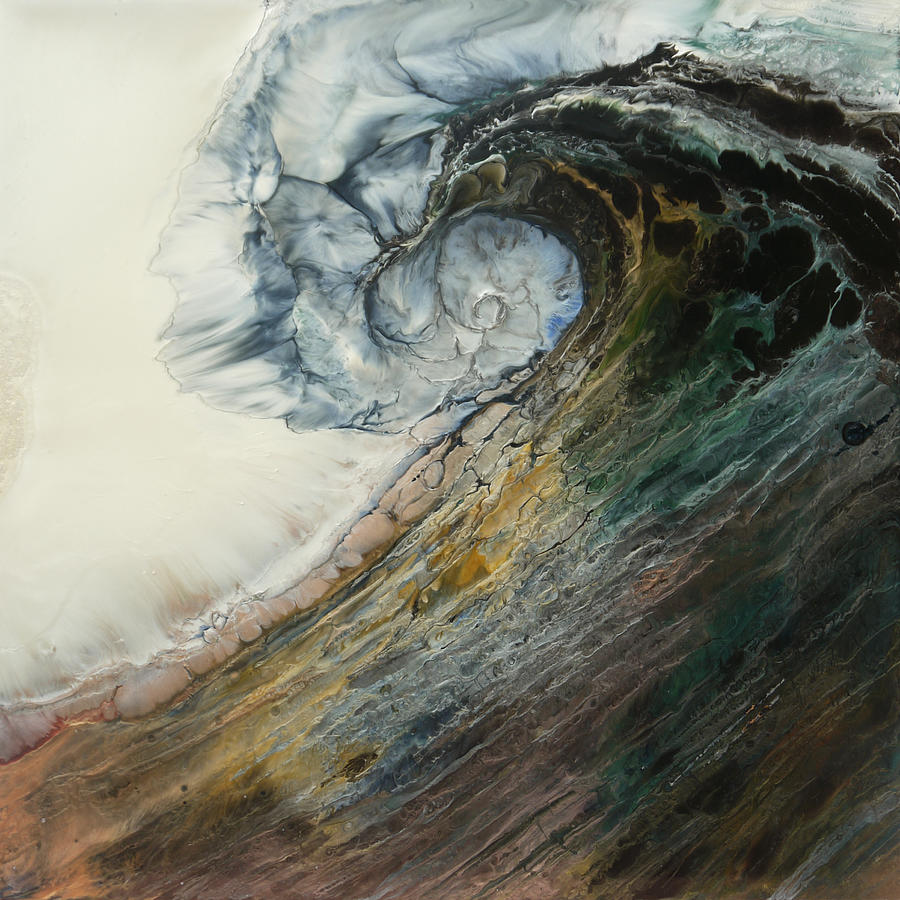 Water Painting - Siren Song Sold by Lia Melia