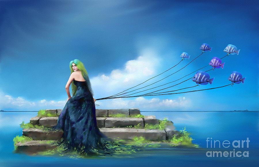 Sirens Lure by Artist ForYou
