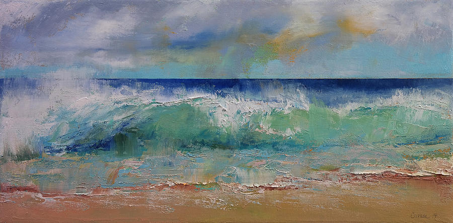 Siren Painting - Sirens by Michael Creese