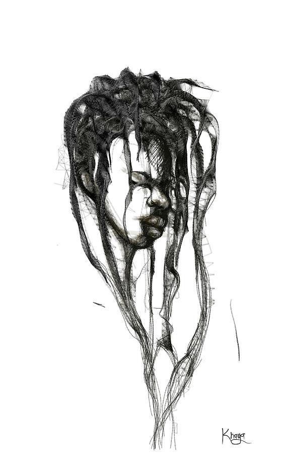 Sister Digital Art by Khaya Bukula
