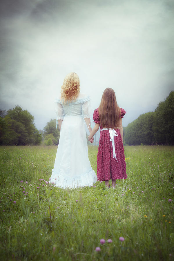 Girl Photograph - Sisters by Joana Kruse