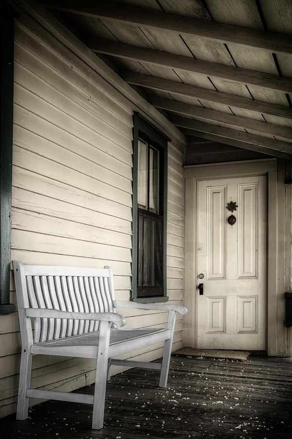 Joan Carroll Photograph - Sit Awhile by Joan Carroll