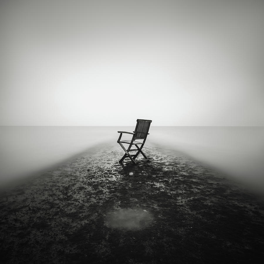 Sea Photograph - Sit Down And Relax by Christophe Staelens