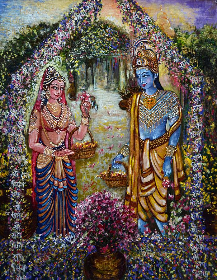 Sita Ram Painting By Harsh Malik