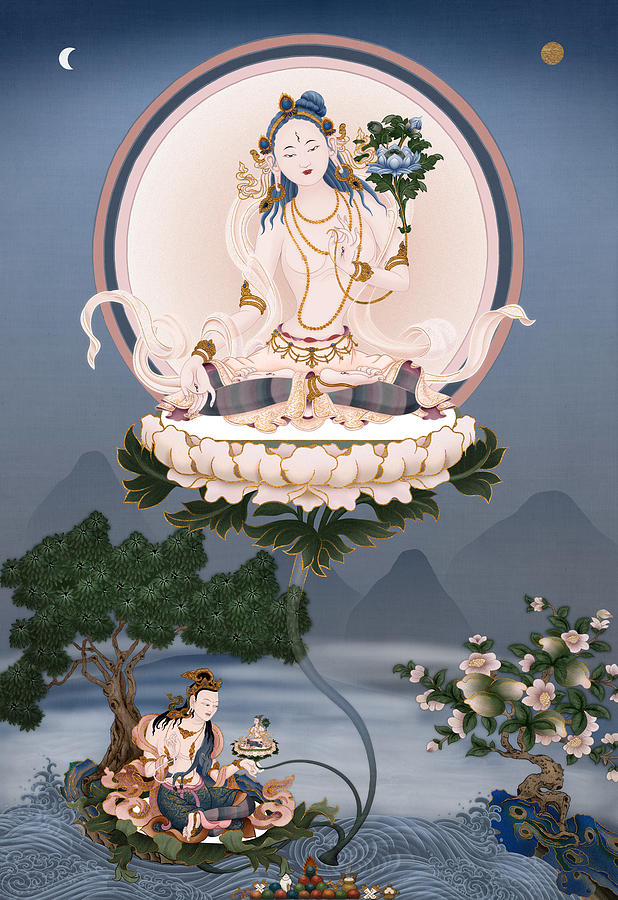 Tara Painting - Sita Tara by Ben Christian