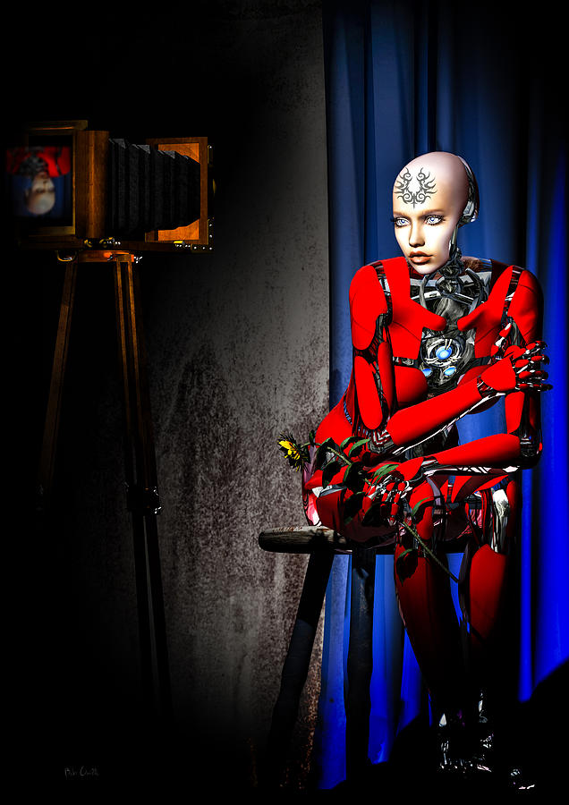 Android Digital Art - Sitting For The Camera by Bob Orsillo