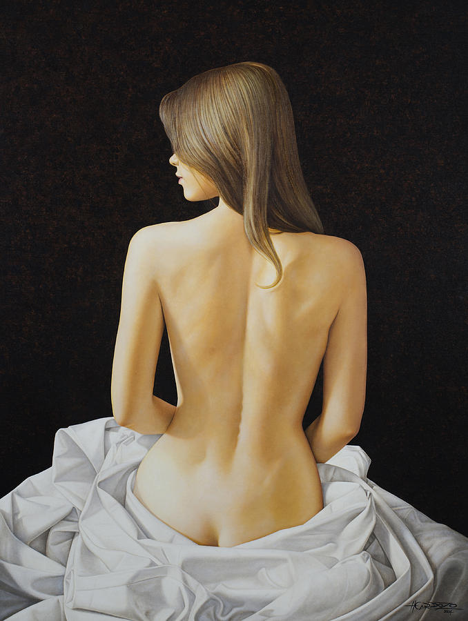 Sitting Nude by Horacio Cardozo