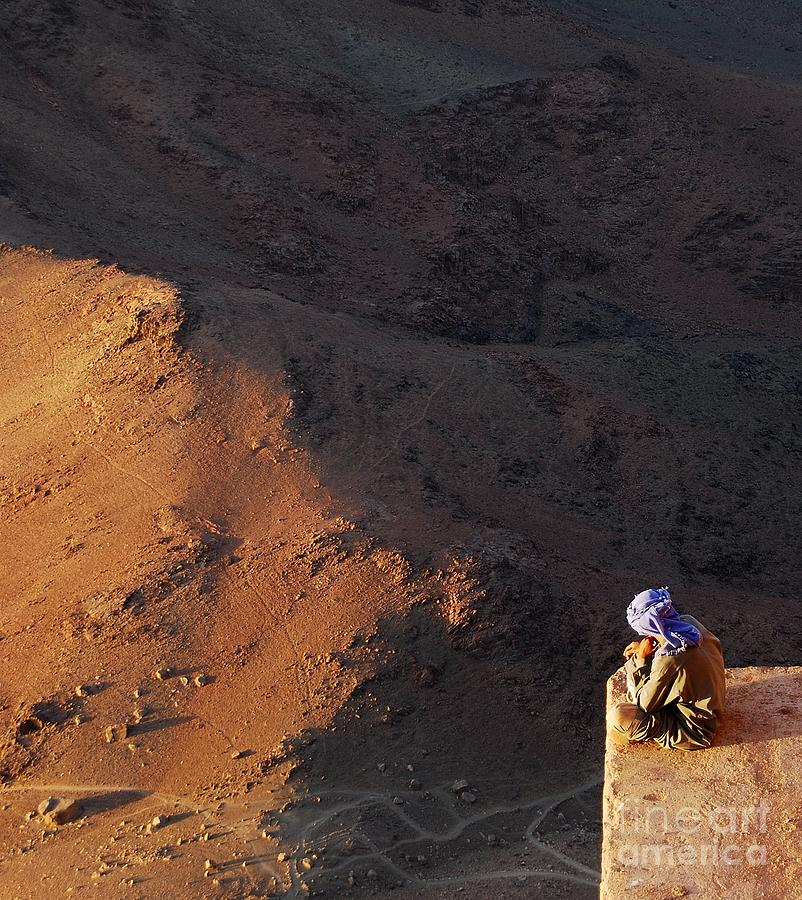 Mount Moses Photograph - Sitting On Top Of The World by Hannes Cmarits