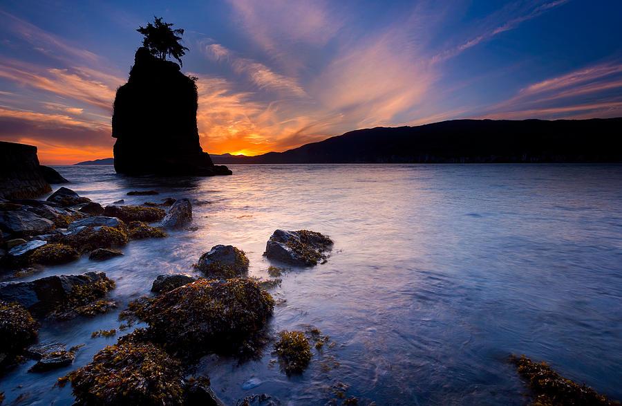 Siwash Rock Photograph - Siwash Rock by Alexis Birkill
