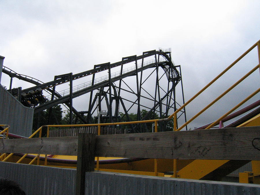 Six Photograph - Six Flags Great Adventure - Nitro Roller Coaster - 12122 by DC Photographer