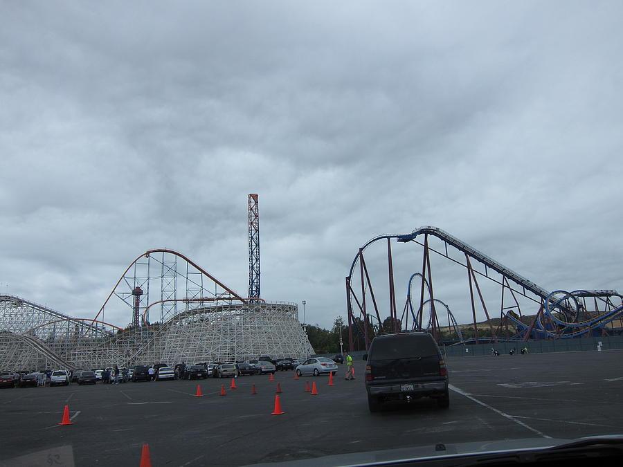 Six Photograph - Six Flags Magic Mountain - 12121 by DC Photographer