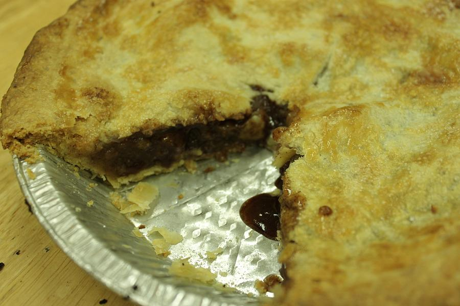 Pie Photograph - Six Slices by Joanne Ayoub