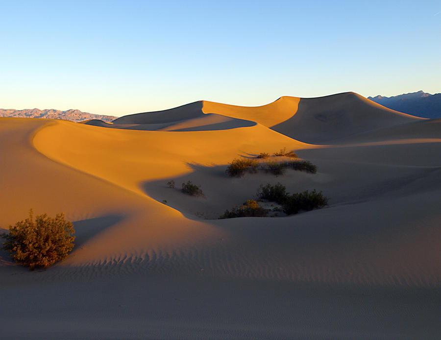 Death Valley Photograph - Sixfortyfour Am April First  Twelve by Joe Schofield
