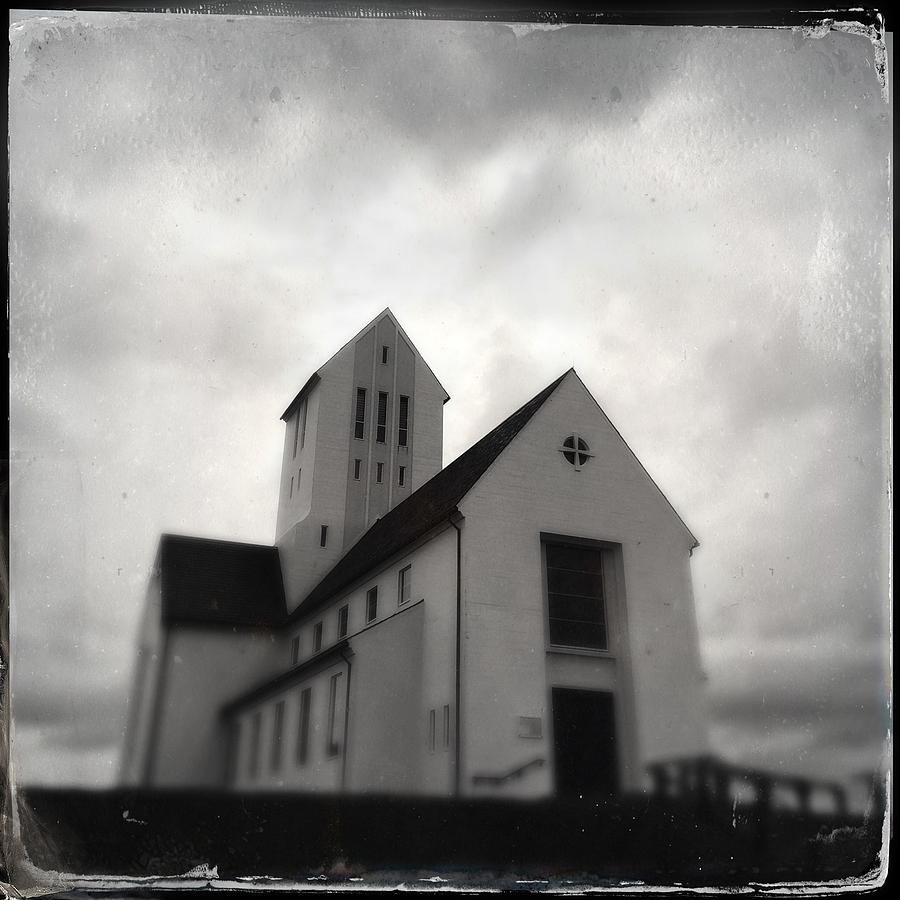 Church Photograph - Skalholt church in Iceland by Matthias Hauser