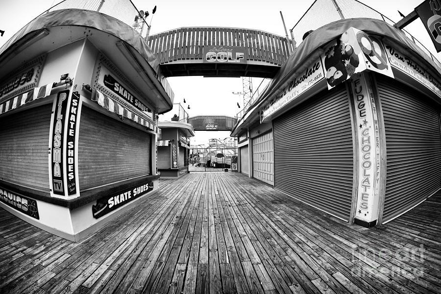 Amusement Park Photograph - Skate Shoes by John Rizzuto