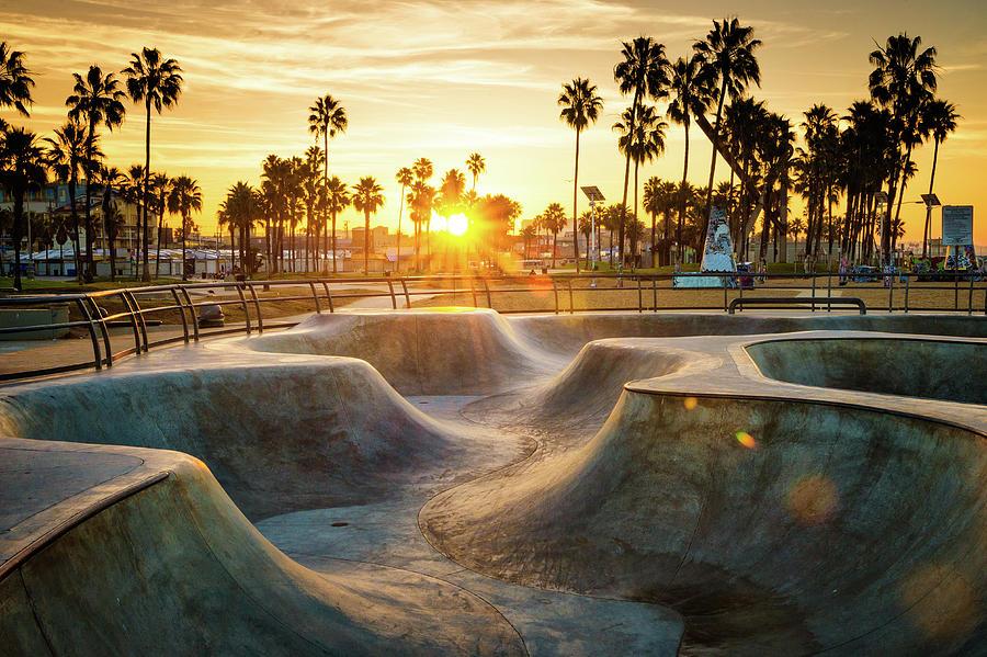 Skateboarding Paradise Photograph by Extreme-photographer