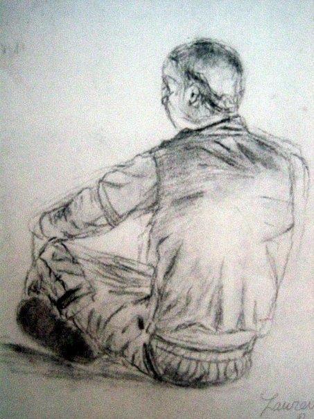 Sketch 1 Drawing by Lauren  Pecor