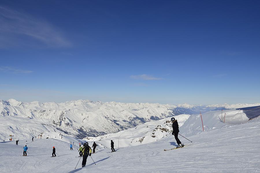 Ski Piste Photograph by Sjo
