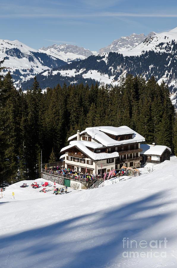 Ski Und Berghaus Schifer Davos Parsenn Klosters Photograph