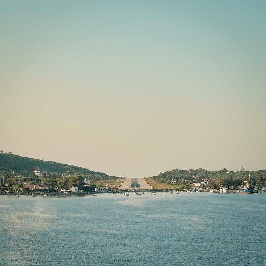 Aegean Photograph - Skiathos Airport by Tom Gowanlock